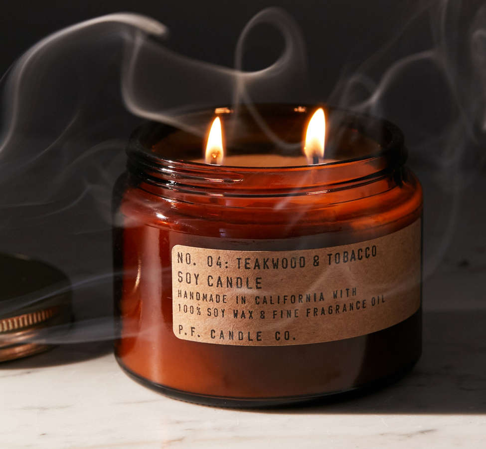 Slide View: 1: P.F. Candle Co. Double Wick Jar Candle