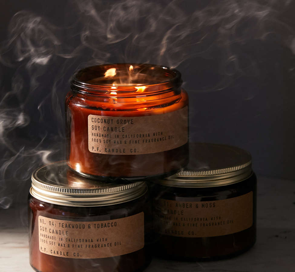 Slide View: 3: P.F. Candle Co. Double Wick Jar Candle