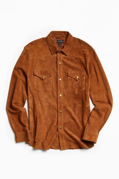 CPO Suede Western Shirt