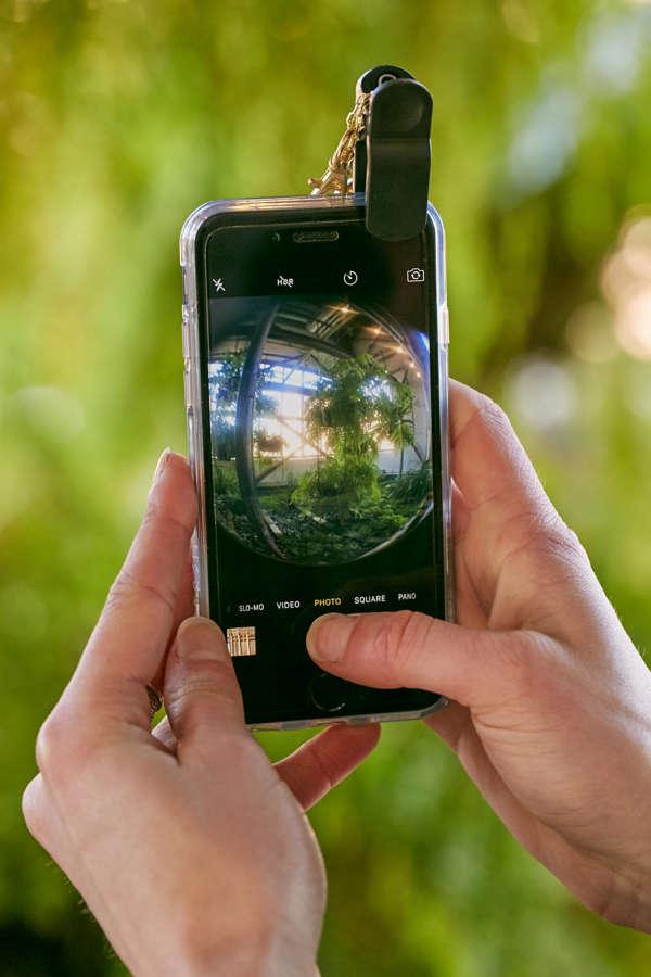 Slide View: 1: Fisheye Phone Lens