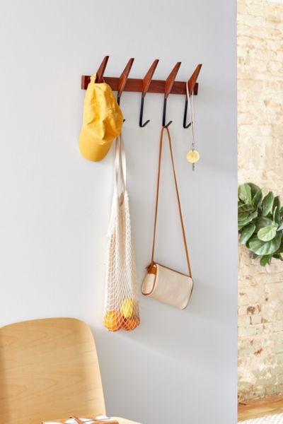 Mid Century Modern Wall Hook Urban Outfitters