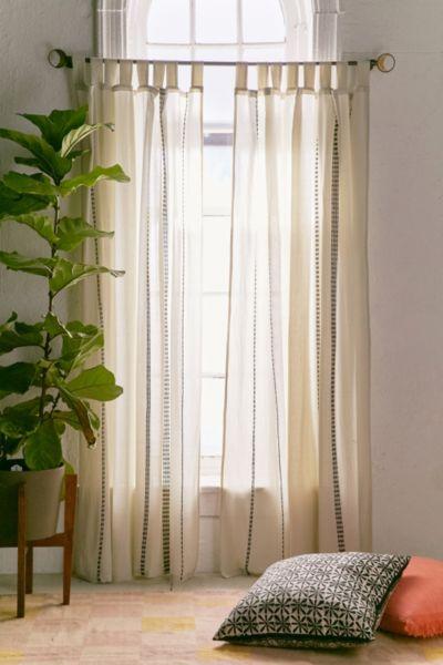 Chunky Embroidery Curtain