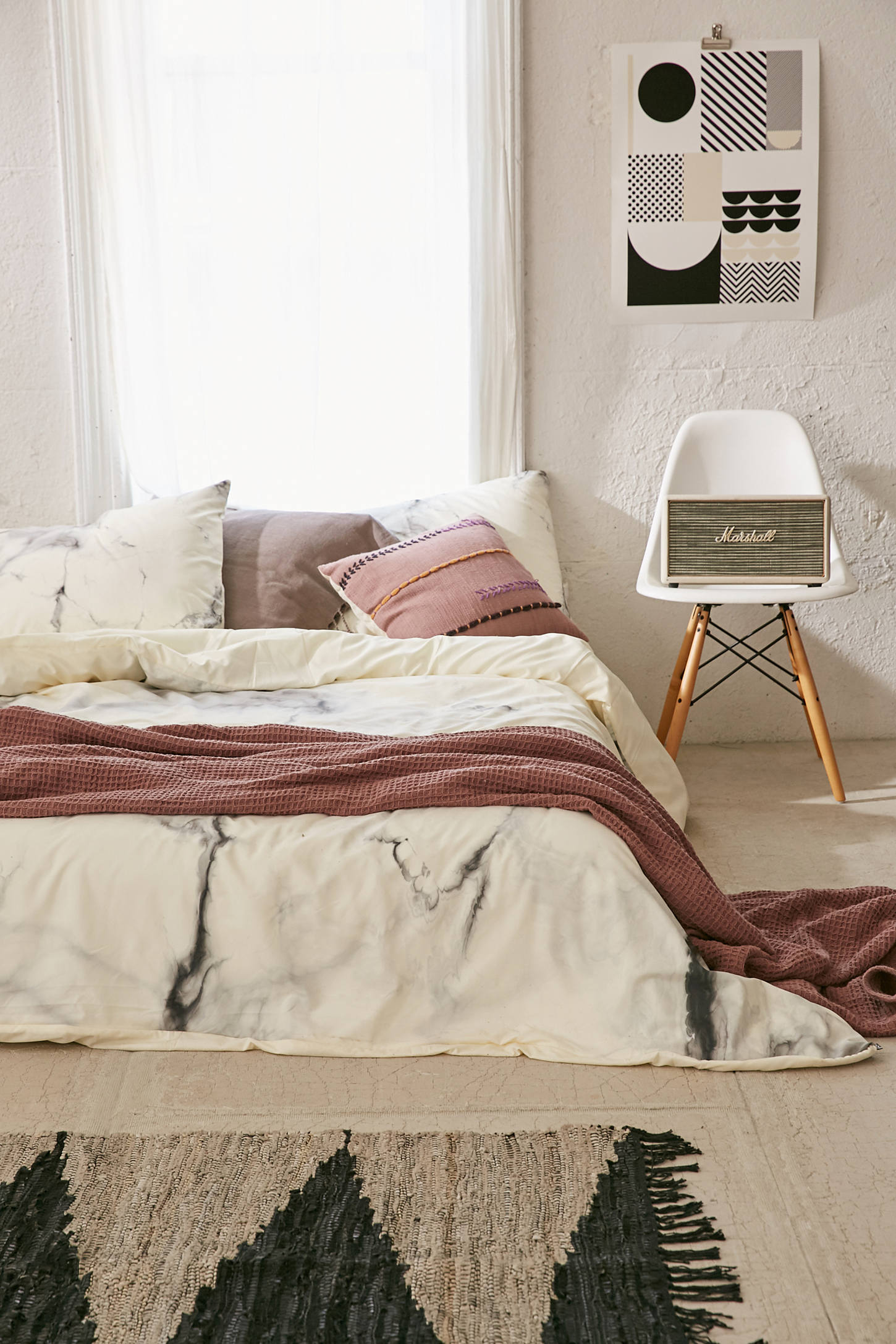 Chelsea Victoria For Deny Marble Duvet Cover Urban