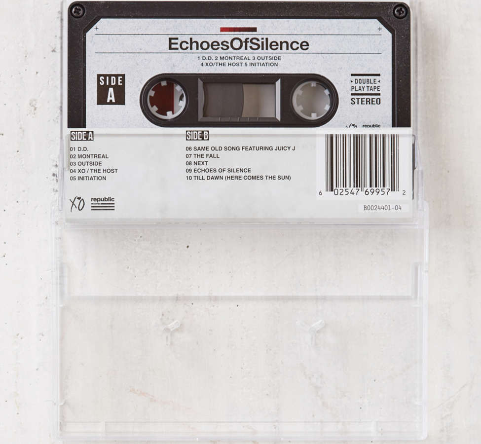 Slide View: 2: The Weeknd - Echoes Of Silence Cassette Tape