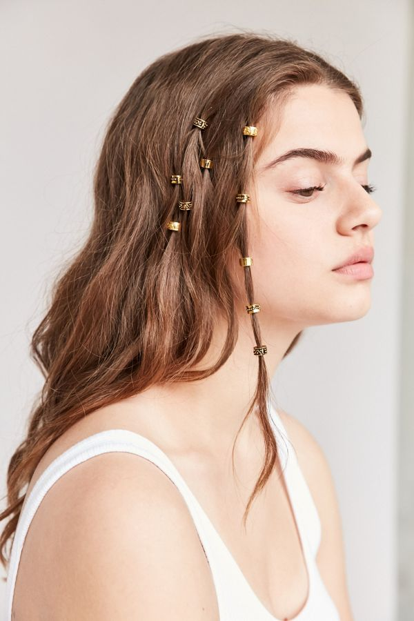 Regal Rose Engraved Hair Charm Set Urban Outfitters