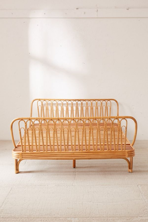 Canoga Rattan Bed Urban Outfitters