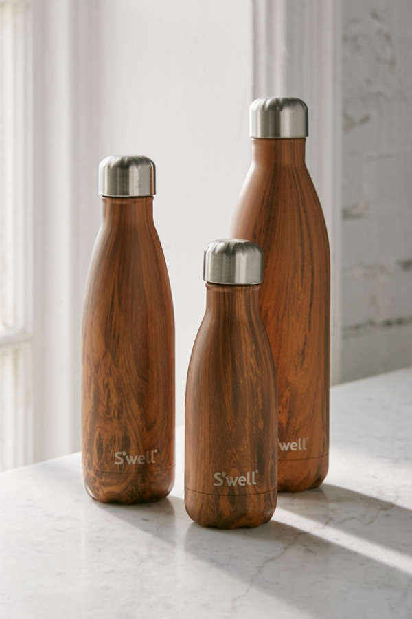 S Well Wood Water Bottle Urban Outfitters