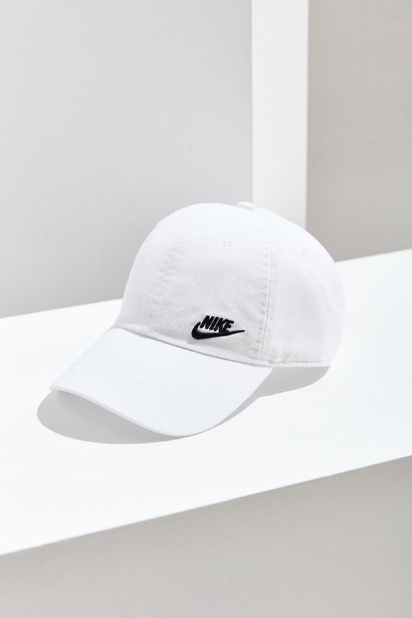Nike Twill H86 White Baseball Hat  ab9da35dd31