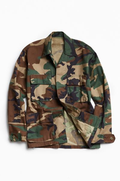 Rothco Camo Field Jacket - Green Multi XS at Urban Outfitters