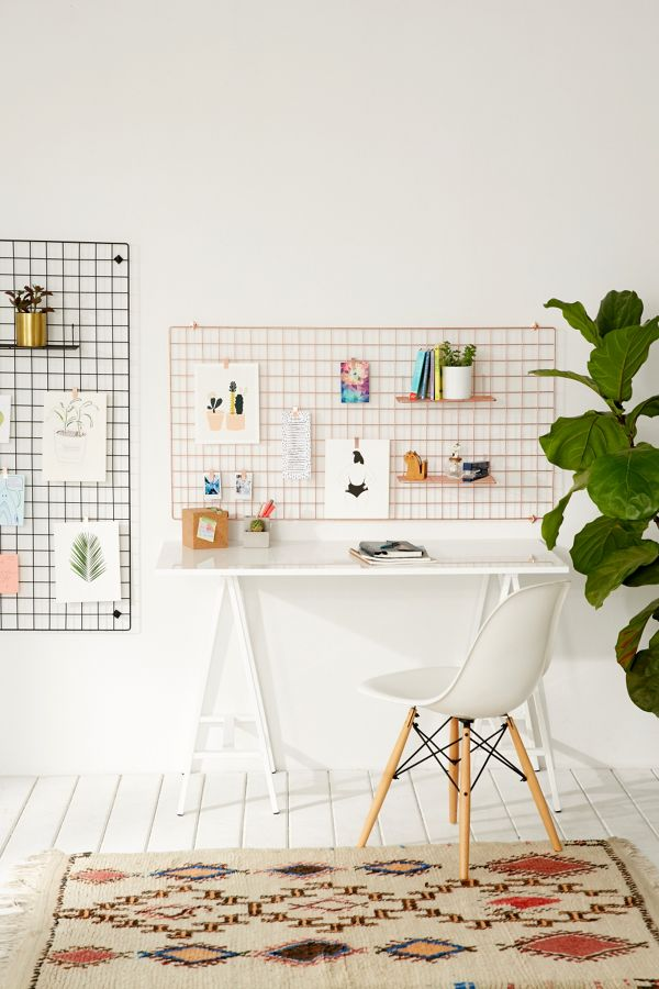 Wire Wall Rectangle Grid Urban Outfitters