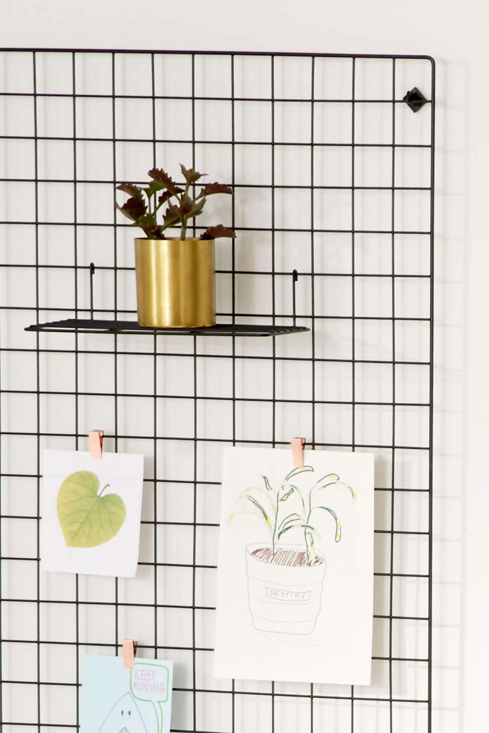 Wire Wall Grid Shelf Urban Outfitters