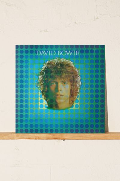 David Bowie - Space Oddity LP - Black One Size at Urban Outfitters