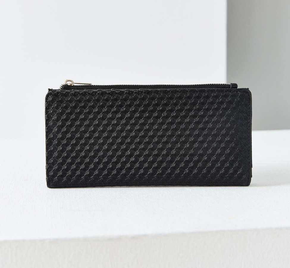 Slide View: 1: Kimchi Blue Thin Embossed Wallet