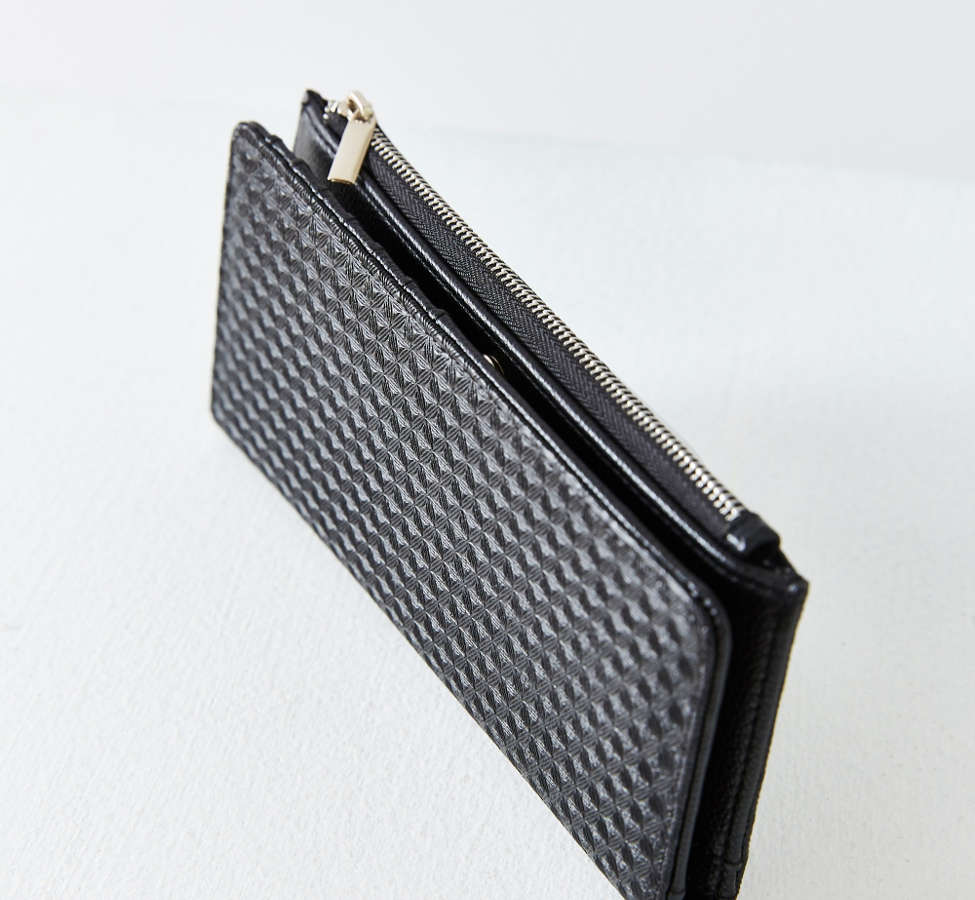 Slide View: 2: Kimchi Blue Thin Embossed Wallet