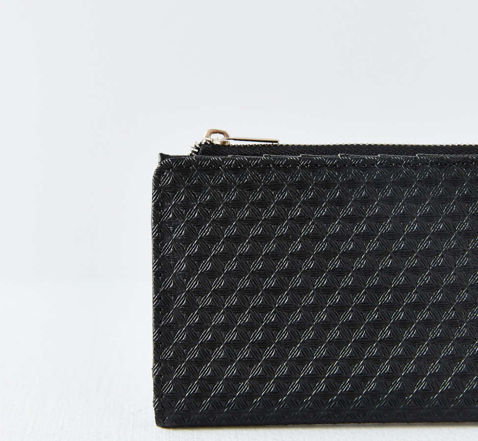 Slide View: 3: Kimchi Blue Thin Embossed Wallet