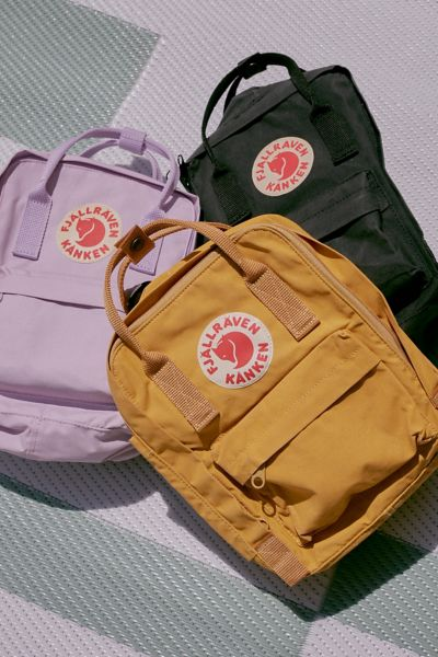 Fjallraven Kanken Mini Backpack - Yellow One Size at Urban Outfitters