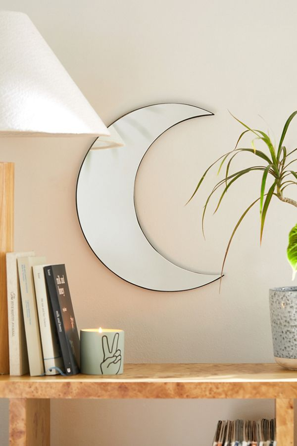 Crescent Moon Mirror Urban Outers