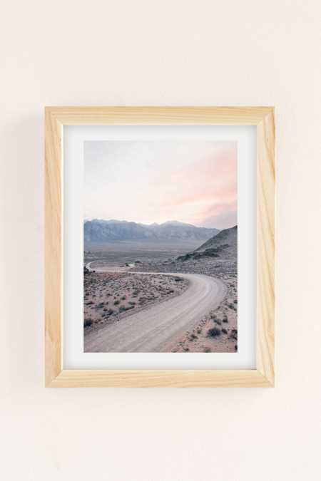 Morgan Phillips Dusty Road Art Print