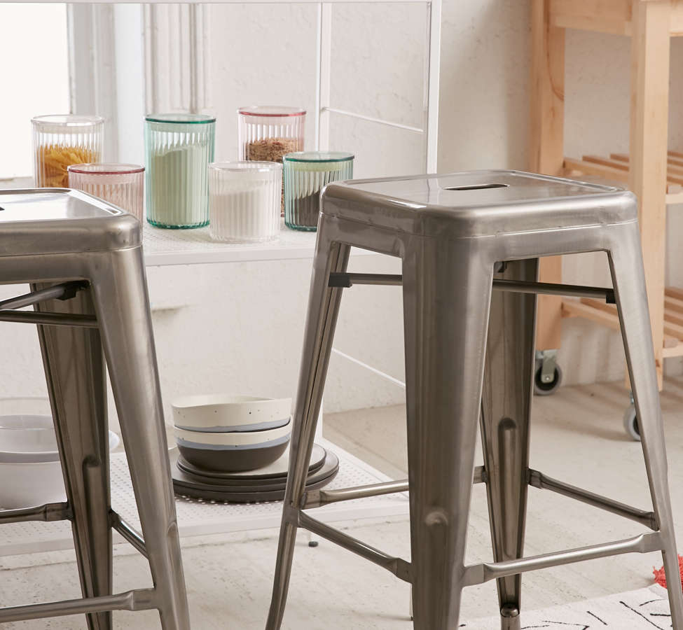 Slide View: 1: Marius Counter Stool Set