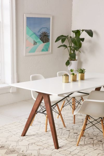 saints dining table   urban outfitters