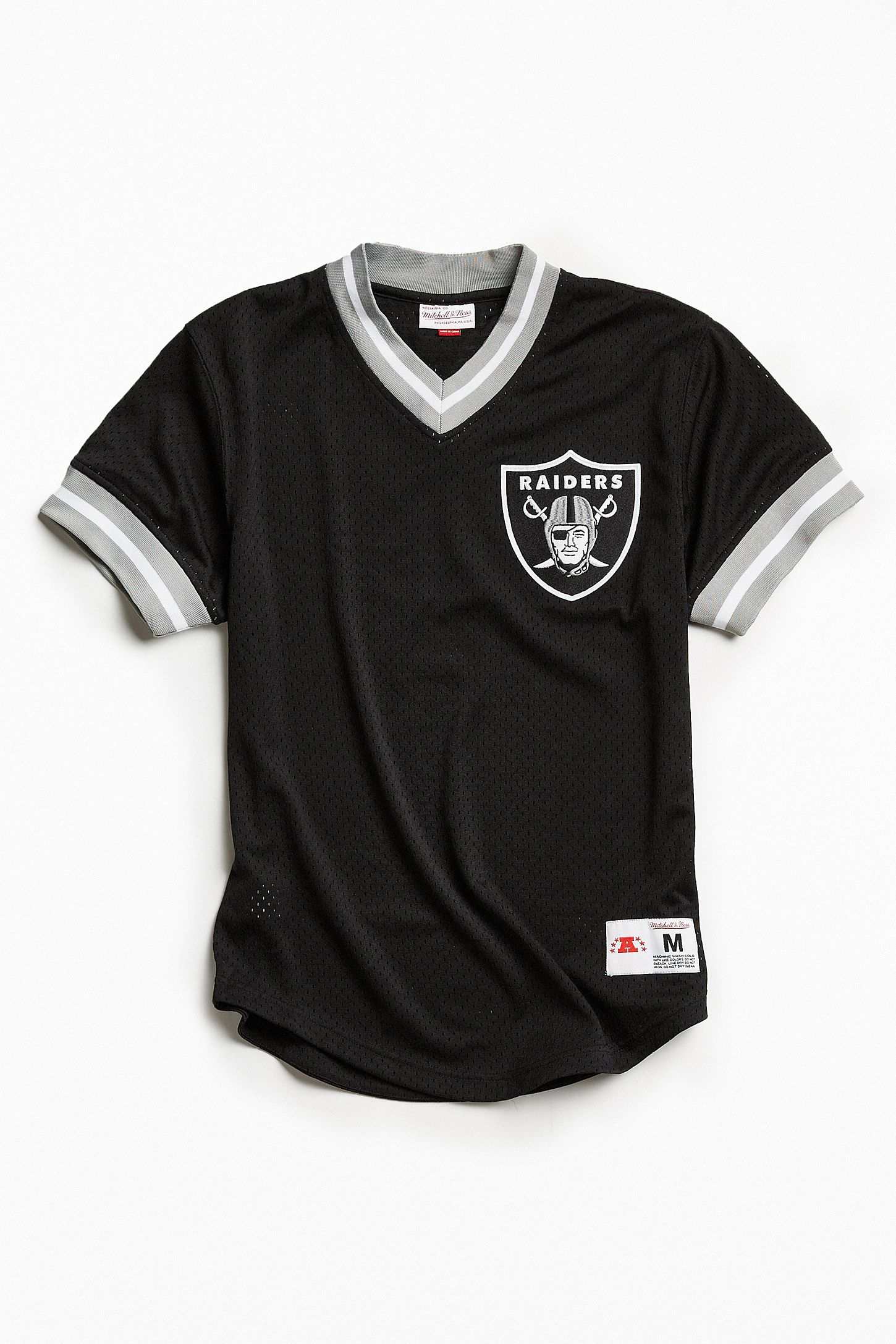 Mitchell   Ness NFL Oakland Raiders Mesh V-Neck Top  048ca3c80