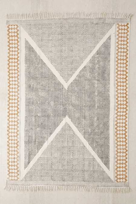 Calisa Block Printed Rug