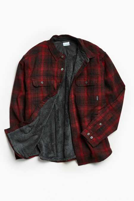 Columbia Windward Plaid Insulated Shirt Jacket