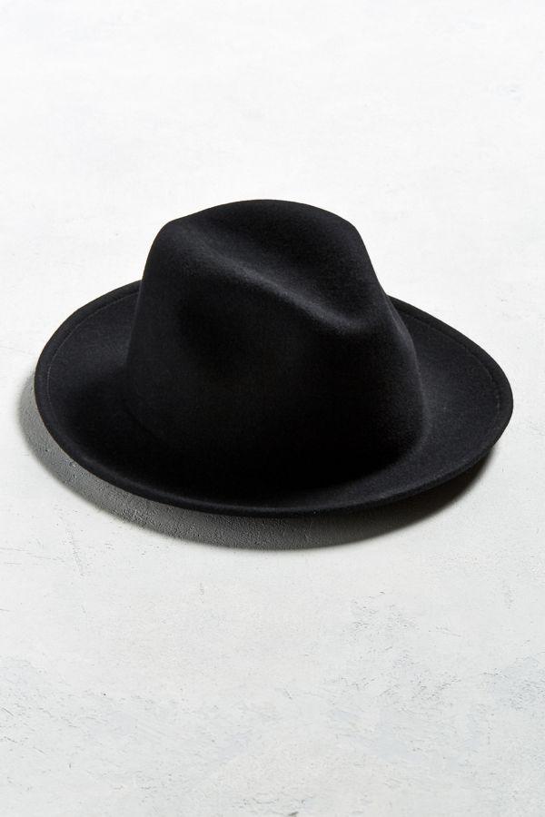 52c7bc90448 Coal Howell Crushable Fedora Hat