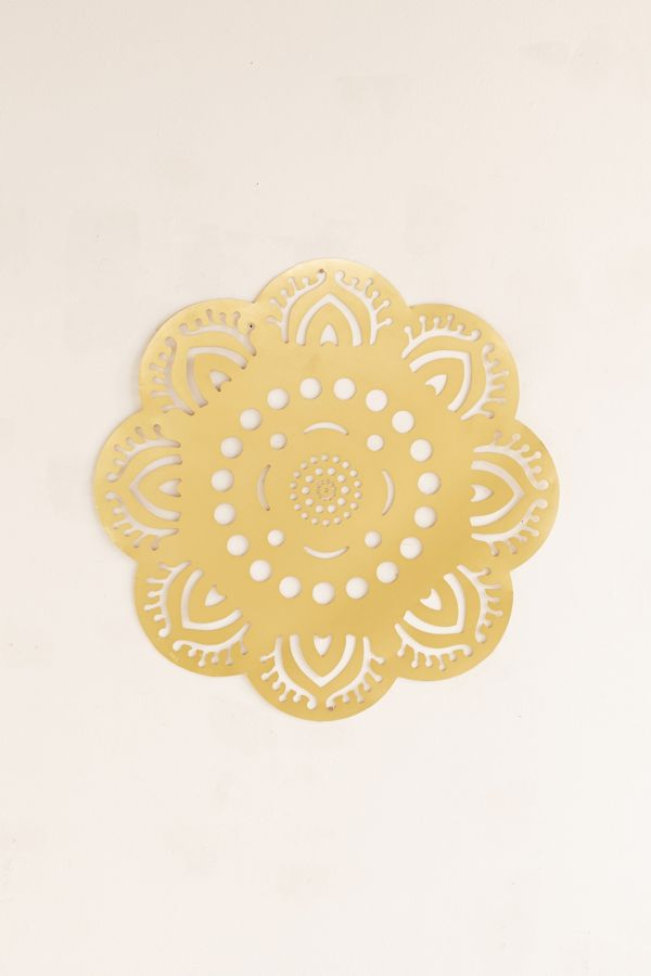 Hanging Metal Medallion Wall Decor | Urban Outfitters