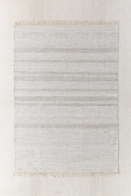 Heathered Banana Silk Rug