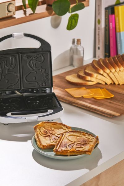 Snoopy Grilled Cheese Maker - Multi One Size at Urban Outfitters