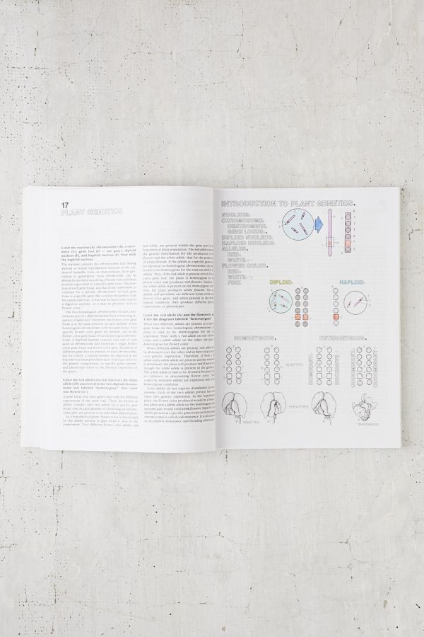 The Botany Coloring Book By Paul Young Jacquelyn Giuffre Urban