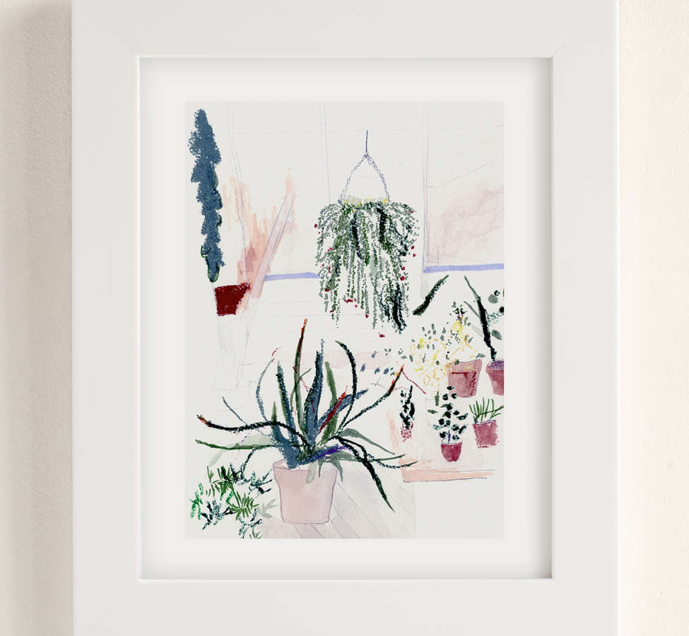 Slide View: 1: Alicia Galer Potted Garden Art Print