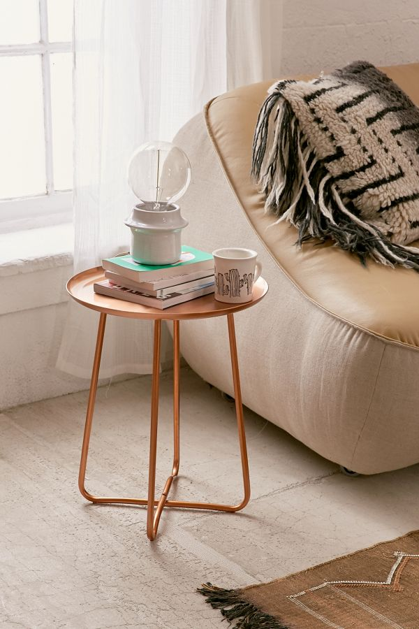 Slide View 1 Blaire Metal Side Table