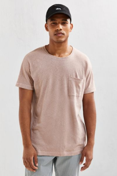 Cotton Linen Batwing Tee
