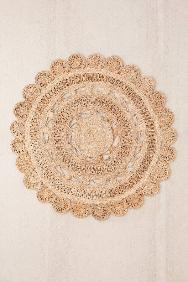 Jute Round Rug Home Decorating Ideas
