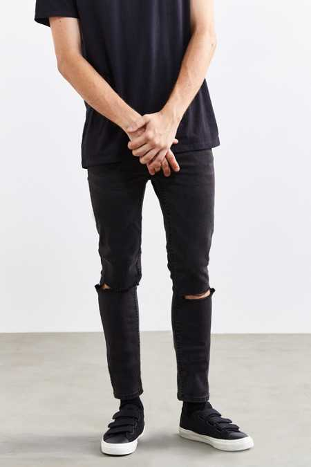 Cheap Monday Tight Cut Grey Skinny Jean