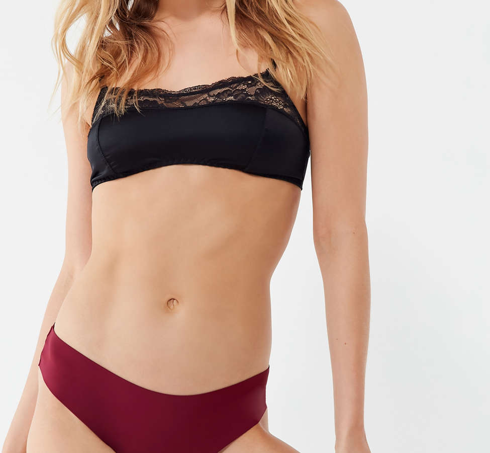 Slide View: 1: Nellie Basic Laser-Cut Thong