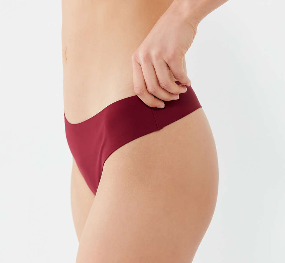 Slide View: 2: Nellie Basic Laser-Cut Thong