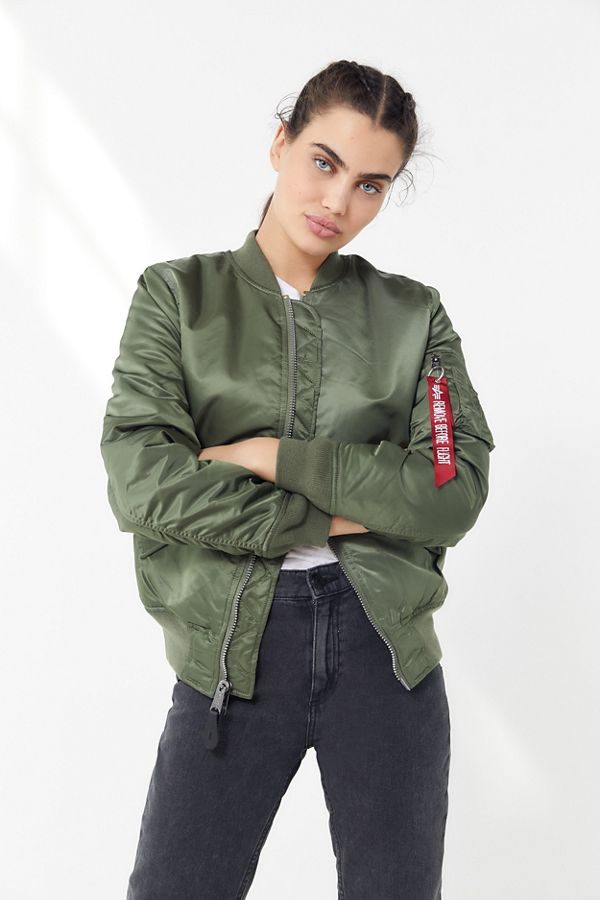 Alpha Industries Ma 1 Bomber Jacket Urban Outfitters