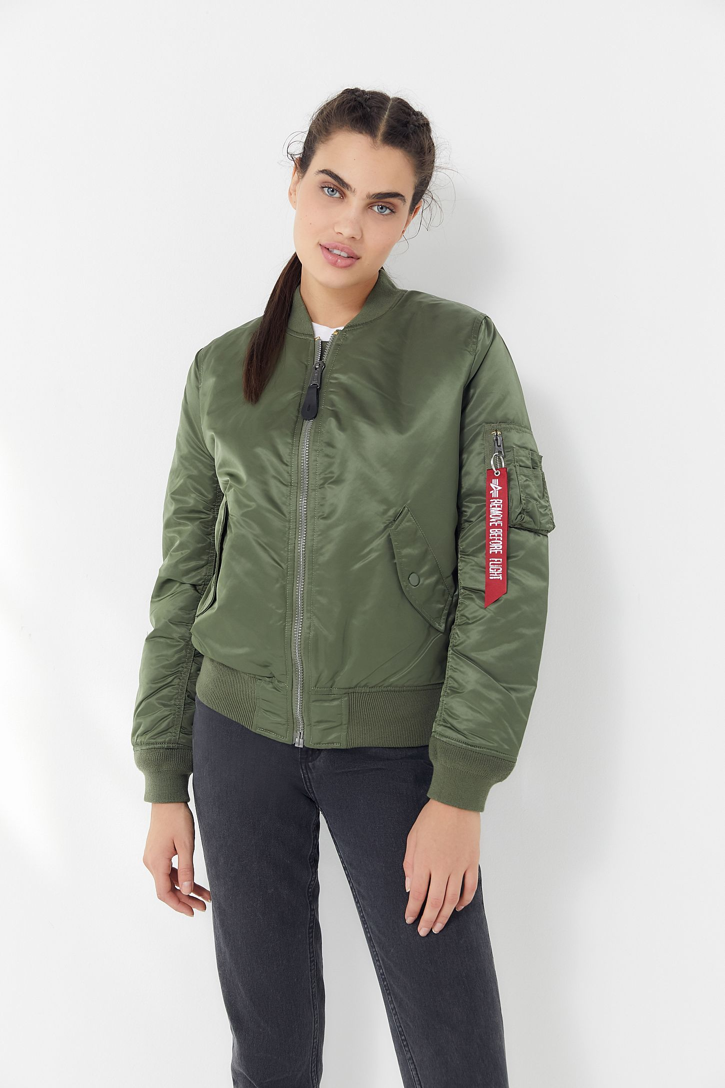 Slide View  6  Alpha Industries MA-1 Bomber Jacket 2917592d96e