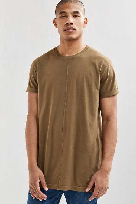 Center Seam Long Tee