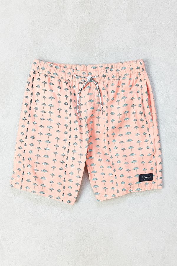 Barney Cools Sunday Umbrella Boardshort Urban Outfitters