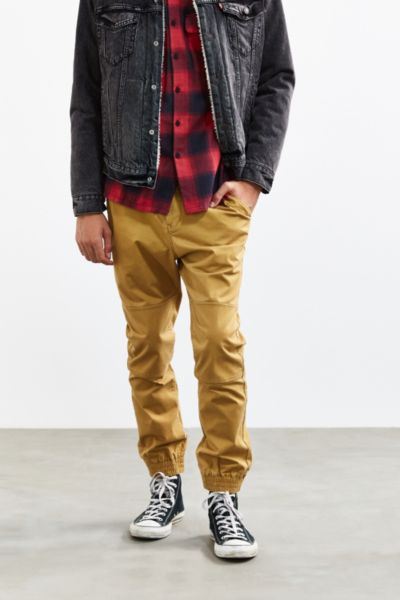 Without Walls Calvary Twill Trail Jogger Pant - Yellow XL at Urban Outfitters