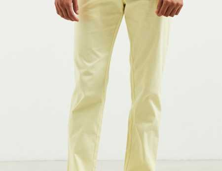 Slide View: 1: Pantalon coutil ajusté extensible Easton UO