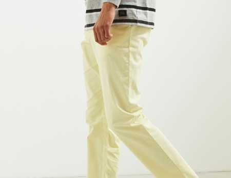 Slide View: 3: Pantalon coutil ajusté extensible Easton UO
