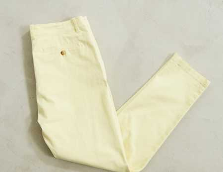 Slide View: 4: Pantalon coutil ajusté extensible Easton UO