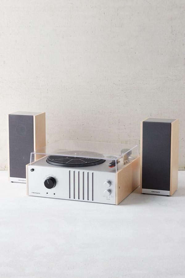 Crosley Vinyl Record Player Detachable Speakers Set