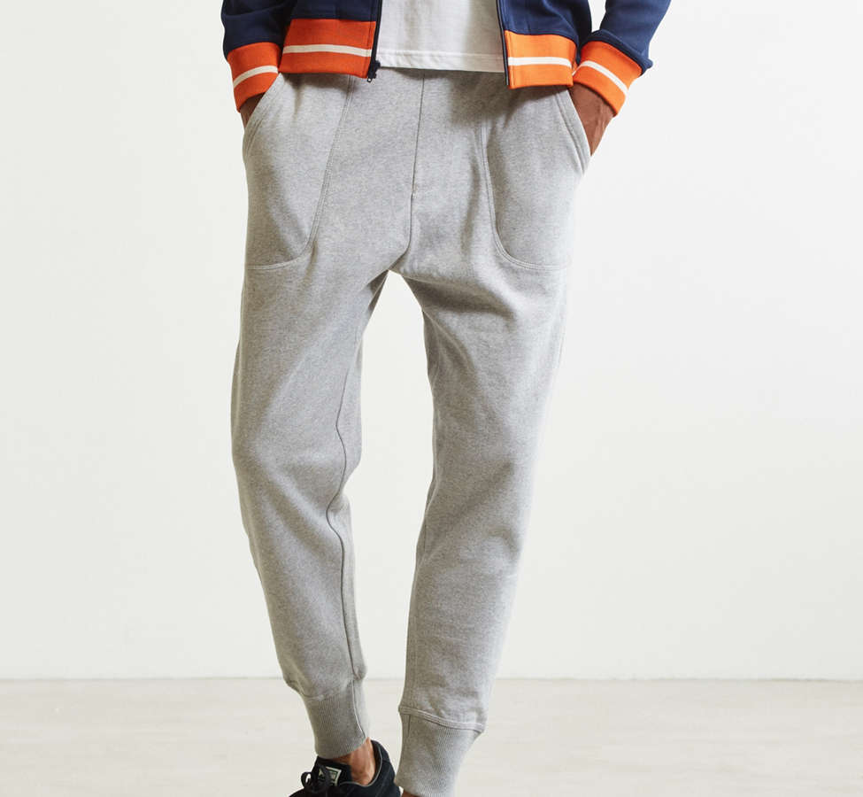Slide View: 1: UO Terry Fleece Jogger Pant