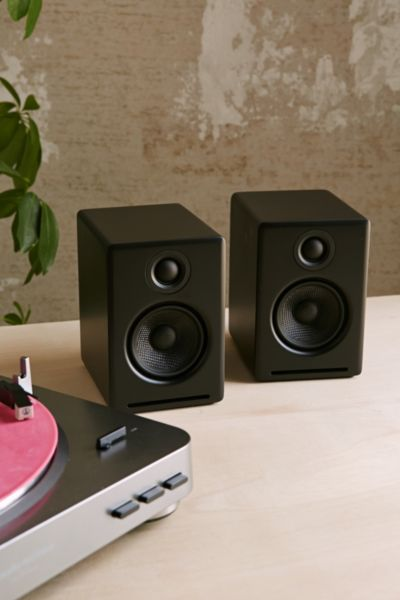 Audioengine A2+ Premium Powered Desktop Speakers - Black One Size at Urban Outfitters